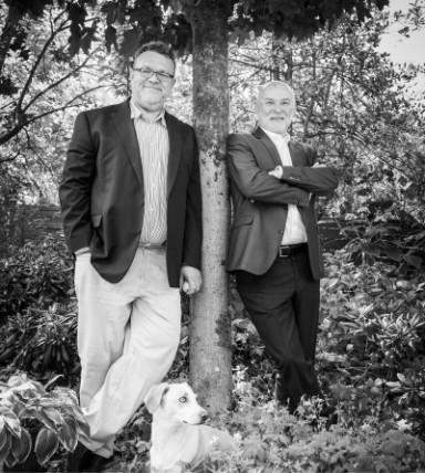 Horst Dieter Büschken und Oliver Michels